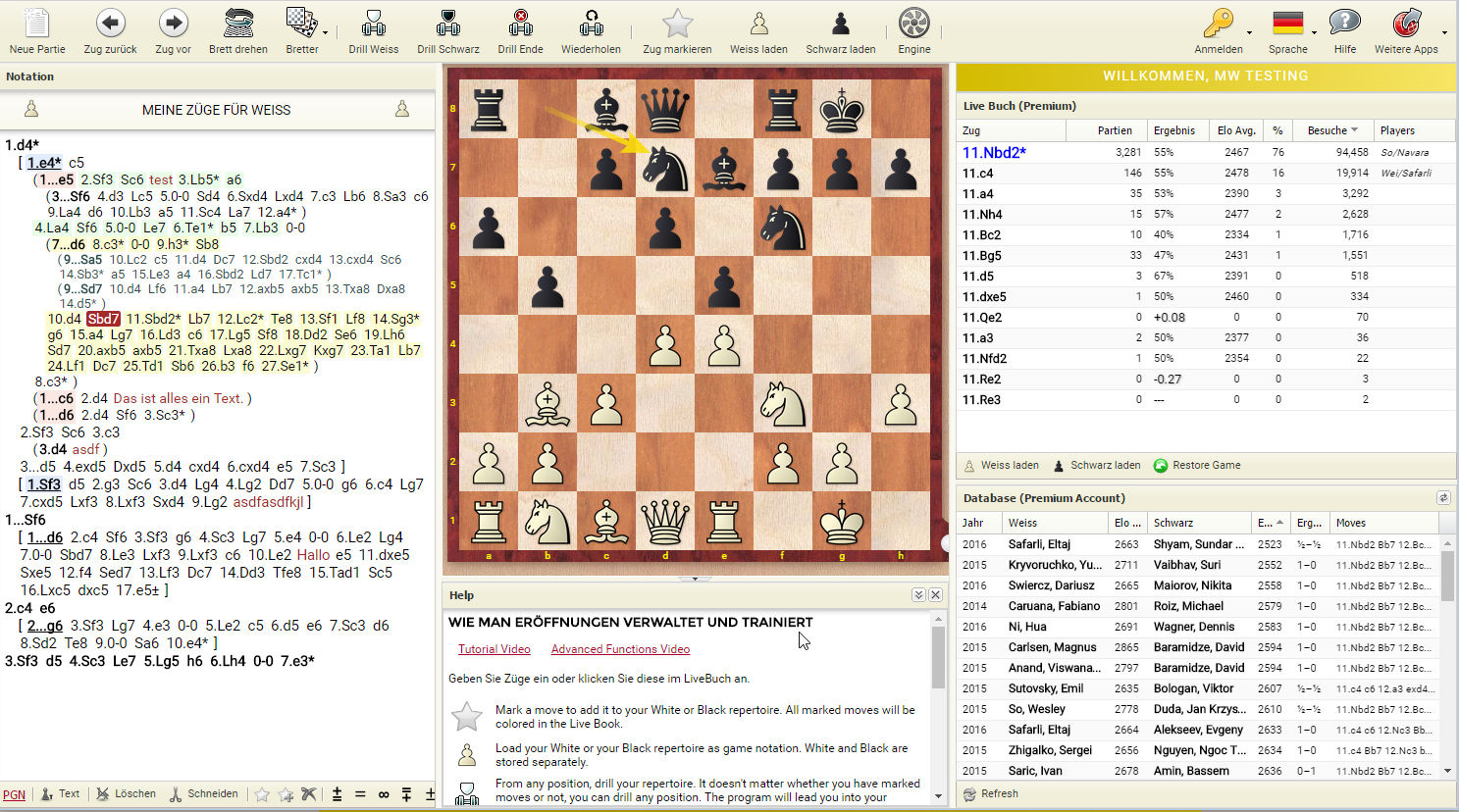 openings.chessbase.com Screenshot
